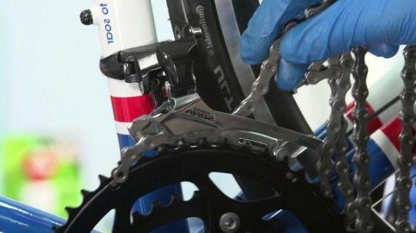 Как поменять цепь на велосипеде в домашних условиях 662