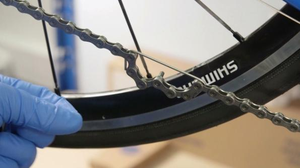 Как поменять цепь на велосипеде в домашних условиях 944