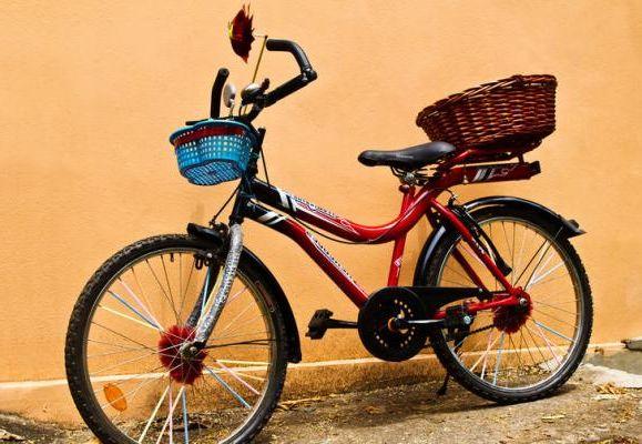 Как украсить велосипед своими руками для девочек фото