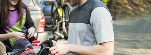 рубашка для горного велосипеда