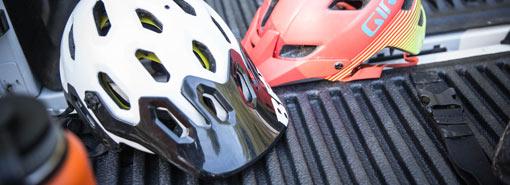 шлем для езды на горном велосипеде