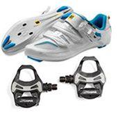 велотуфли и контактные педали